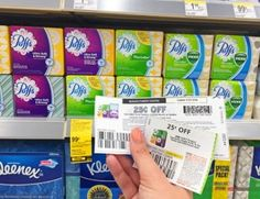 Collect newspaper and printable coupons.