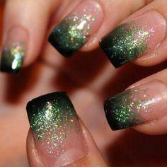 18 new ideas manicure ombre gold sparkle Glitter French Manicure, Gel Manicure, Glitter Nails, Pedicure, Manicure Ideas, Sparkle Nails, Nail Ideas, Clear Nails, Gold Sparkle