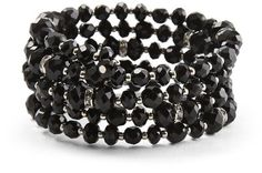 Jet Coil Bracelet - White House Black Market ~ This is my favorite bracelet! Love it, have it in silver too :)