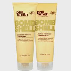 Phil Smith Bombshell Blonde Radiance Duo Kit (2 Produtos)
