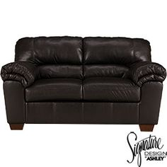 Signature Design by Ashley® Faux Leather San Marco Loveseat