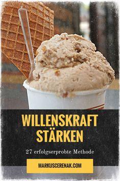 Wille, Stress, Ice Cream, Desserts, Inspiration, Custom In, Self Discipline, Self Motivation, Life Planner