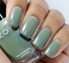 Twinsie Tuesday ~ First Polish Swatched ~ Zoya Gemma - Refined and Polished