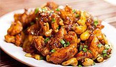 Poulet caramélisé aux noix de cajou