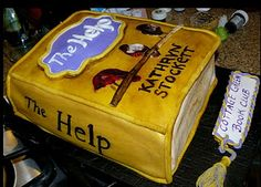 The Help inspired cake for book club meeting.