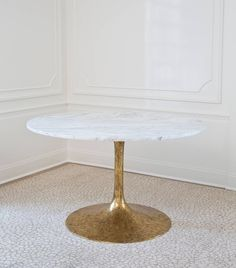 Iris Dining Table | From a unique collection of antique and modern dining room tables at https://www.1stdibs.com/furniture/tables/dining-room-tables/