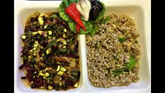 Lea Hogg's Beet Stem and Leaf Coconut Curry with Barley