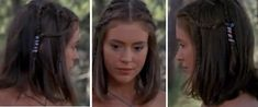 Phoebe Halliwell  braided hair from season 1 Charmed