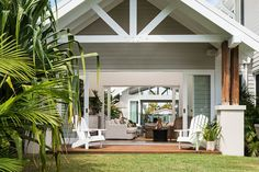 Design inspiration of a neat house and #comfy #deck. #like #nature #designn