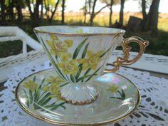 Vintage+Teacup+Tea+Cup+and+Saucer+Lusterware+by+Holliezhobbiez,+$12.95