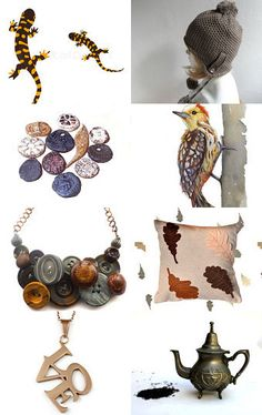 All Around Brown by Julia on Etsy