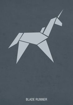 Blade Runner - This an example that I really like, and thought is a really good one. To the people who have watched the film, they would be able to recognised the unicorn straight away, as it is shown in the ending of the movie, which is a symbolism for life and humanity.