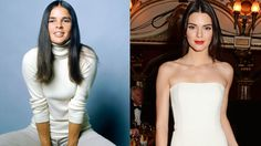 The Parallels: Beyond clear physicality, both prefer streamlined, easy silhouettes. McGraw also began her career working at Harper's BAZAAR before becoming an actress and style icon. Kendall Jenner has appeared in BAZAAR as a model.