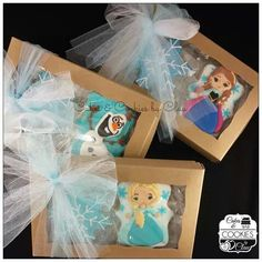 Idea giveaway box cookies