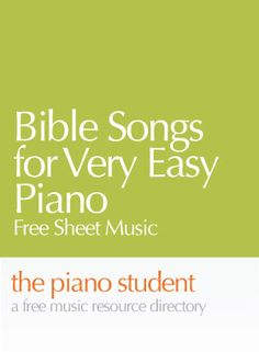 Here's a collection of Bible songs for Level 2 piano. These well written free sheet music arrangements are perfect for young piano students with years for experience. Free Sheet Music The… Beginner Piano Music, Easy Piano Sheet Music, Free Sheet Music, Learn Piano Beginner, Music Sheets, Piano Lessons, Music Lessons, Bible Songs, Piano Teaching