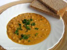 Úžasné jednoduché luštěninové jídlo. Cizrna patří mezi nejhodnotnější luštěniny a její příprava je velice vděčnou záležitostí.