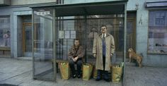 Quite like it for the bus stop scene and the character on the bus. Muted colours and very symmetrical