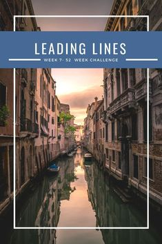 Leading lines is a really important concept in photography and once you understand it, you will take MUCH better photos effortlessly. Check out the ideas behind leading lines in Week 7 of my FREE 52 challenge to take better photos