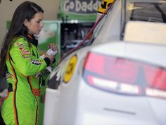 Danica Patrick Swimsuit Issue | Written by: Greg Engle CupScene.com Editor/NASCAR Examiner, January 14 ...
