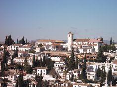 Albaizín desde la Alhambra