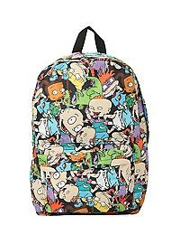 Backpack with a Rugrats characters print design, padded shoulder straps, fully padded back panel and web haul loop. Soft Grunge Outfits, Grunge Fashion Soft, Grunge Style, Rugrats Characters, Tokyo Street Style, Harajuku Girls, Ariel The Little Mermaid, Wedding Heels, Cool Backpacks