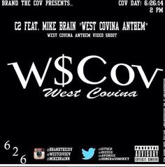 Keep watching th West Covina Anthem Video on YouTube