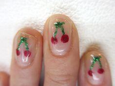 gel nail cherry* nail / kayo