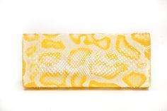 Desert Queen Python Clutch | Kathryn Allen