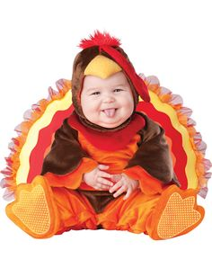 Lil Gobbler Inf Mon - Lil Gobbler Inf Mon, turkey costume & thanksgiving costume & halloween costume from our New Items section. Costume Cauldron is the web's finiest theatre and Halloween store. Baby Turkey Costume, Toddler Halloween Costumes, Cute Costumes, Halloween Costumes For Kids, Costume Ideas, Family Halloween, Costumes Kids, Creative Costumes, Thanksgiving Pictures