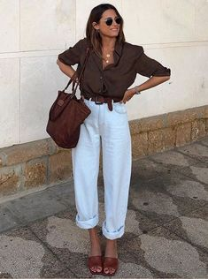 Fashion Tips Dresses Nice Looking 15 Lovely Chic Spring Outfits Women for Work.Fashion Tips Dresses Nice Looking 15 Lovely Chic Spring Outfits Women for Work Spring Outfit Women, Summer Work Outfits, Spring Outfits, Spring Outfit For Work, Ootd Spring, Summer Fashions, Spring Clothes, Look Fashion, Fashion Outfits