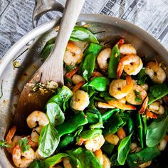 Fragrant South-East Asian Prawns By Nadia Lim Veggie Recipes, Asian Recipes, Cooking Recipes, Healthy Recipes, Healthy Food, Savoury Recipes, Free Recipes, Healthy Eating, Kitchens
