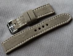 Straps FS: Drew leather and canvas, Hodinkee, Isofrane Image 3