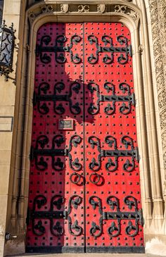 Cathedral Doors at the University of Pittsburgh