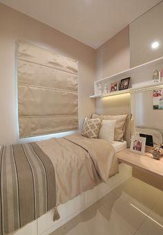 Inspirasi: Impresi Hangat Apartemen Dua Kamar Tidur
