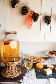 Sparkly Cider and Fall Party Food with Ella Claire