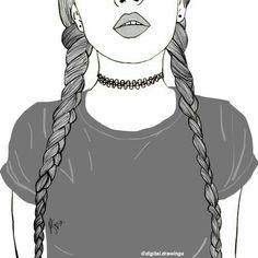 14 Meilleures Images Du Tableau Timblr Tumblr Drawings Girl