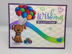 Puppy Wishing You A Happy Birthday