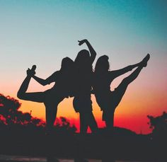 sunset, summer, friends, yoga, Pura Vida