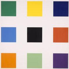 Nine Squares - Ellsworth Kelly