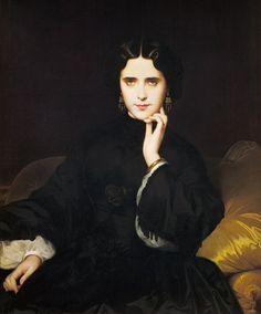 La Fiancée de la Nuit | Madame de Loynes, Amaury-Duval (1862)