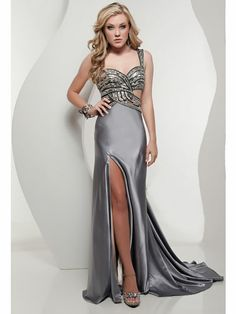 Sparkly Bodice with Cutouts