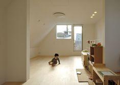 ルーバーが特徴の都市型住宅・間取り(東京都大田区) |ローコスト・低価格住宅 | 注文住宅なら建築設計事務所 フリーダムアーキテクツデザイン