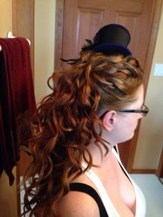 Halloween up do