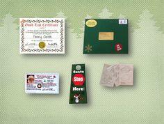 #Santa Stop Here Package from #Santa by SantaGiftWorkshop on Etsy, $11.85
