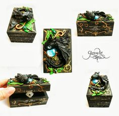 how to train your dragon - Toothless box