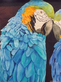 """""""Ricky and Lucy"""" by Nancy Sterett Martin and Karen Sistek. Closeup photo by Cathy Geier. 2015 AQS Quilt Show - Paducah."""