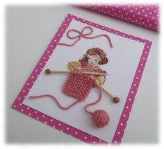 Le Blog d'Aurèle: Petite tricoteuse...