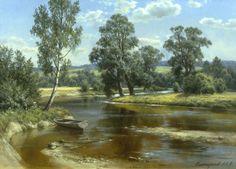 Acrilic Paintings, Landscape Paintings, Landscapes, Watercolor, Nature, Selection, Pastels, Classic, Lakes