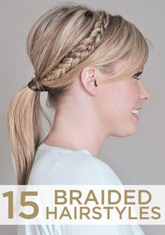 Whether you're looking for the perfect hairstyle or just running out the door, these braided hairstyles are perfect for you.