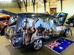 Custom VANS natural BABES & other bad ass transportation. - List of the most beautiful classic cars Australian Muscle Cars, Aussie Muscle Cars, Best Classic Cars, Classic Trucks, Sexy Cars, Hot Cars, Holden Australia, Big Girl Toys, Girls Toys